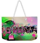 The Greener Side Posterized And Framed Weekender Tote Bag