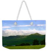The Greens Of Ireland Weekender Tote Bag