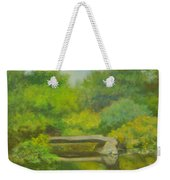 The Greens Of Summer Weekender Tote Bag