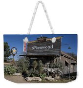 The Greenwood Dancehall And Saloon Bluff Dale Texas Weekender Tote Bag