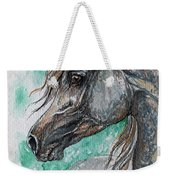 The Grey Arabian Horse 13 Weekender Tote Bag