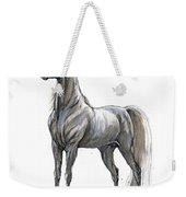 the Grey arabian horse 7 Weekender Tote Bag