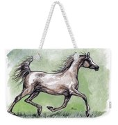 The Grey Arabian Horse 8 Weekender Tote Bag