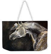 The Grey Arabian Horse 9 Weekender Tote Bag