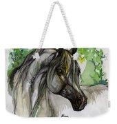 The Grey Horse Drawing Weekender Tote Bag