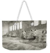 The Grey Mares Weekender Tote Bag