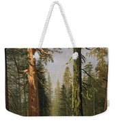 The Grizzly Giant Sequoia Mariposa Grove California Weekender Tote Bag