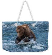 The Grizzly Plunge Weekender Tote Bag