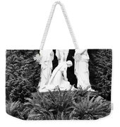 The Grotto - Calvary Scene With Border Weekender Tote Bag