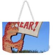 The Grouchy Prophet Weekender Tote Bag