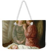 The Guardian Angels  Weekender Tote Bag by Joshua Hargrave Sams Mann