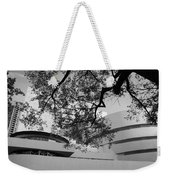 The Gugenheim In Black And White Weekender Tote Bag