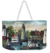 The Guiding Lights Of Ohio Weekender Tote Bag