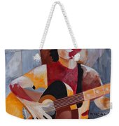 The Guitar Player Weekender Tote Bag