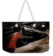 The Gun That Won The West Weekender Tote Bag