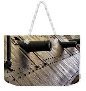 The Guns Of The Uss Cairo Weekender Tote Bag
