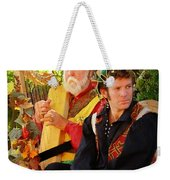 The Gypsy And The Minstrel Weekender Tote Bag