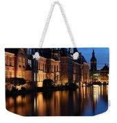 The Hague By Night Weekender Tote Bag