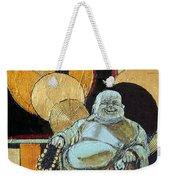 The Happy Buddha Weekender Tote Bag