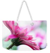 The Happy Flower Pink Daisy Weekender Tote Bag