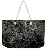 The Hare And The Tortoise Weekender Tote Bag