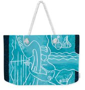 The Harp Player Weekender Tote Bag
