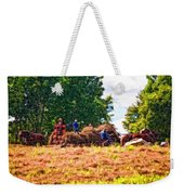 The Harvest Impasto Weekender Tote Bag