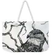The Hawk Weekender Tote Bag