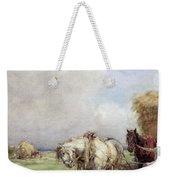 The Hay Wagon Weekender Tote Bag