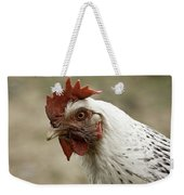 The Head Of A Rooster Weekender Tote Bag