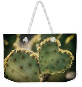 The Heart Of A Cactus  Weekender Tote Bag