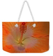 The Heart Of A Hibiscus Weekender Tote Bag