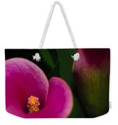 The Heart Of The Lily Weekender Tote Bag by Christi Kraft