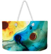 The Heart's Desire - Colorful Abstract By Sharon Cummings Weekender Tote Bag by Sharon Cummings