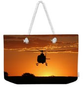 The Helicopter Weekender Tote Bag
