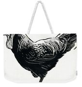 The Hen Weekender Tote Bag by George Adamson
