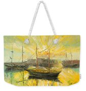 The Heraklion Harbour Weekender Tote Bag