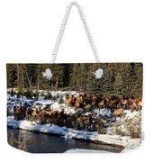 The Herd Weekender Tote Bag