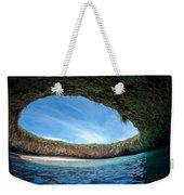 The Hidden Beach Weekender Tote Bag