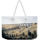 The High Bridge Near Farmville, Prince Weekender Tote Bag