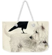 The Hitchhiker Weekender Tote Bag by Edward Fielding