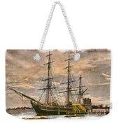 The Hms Bounty Weekender Tote Bag