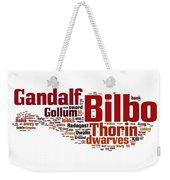 The Hobbit Weekender Tote Bag