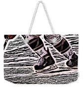 The Hockey Player Weekender Tote Bag