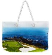 The Hole 7 At Pebble Beach Golf Links Weekender Tote Bag