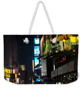 The Holidays In Time Square Weekender Tote Bag