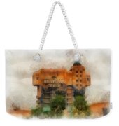 The Hollywood Tower Hotel Disneyland Photo Art 01 Weekender Tote Bag