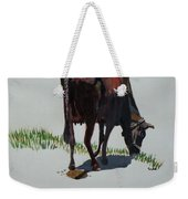 The Holy Cow And Dung. Weekender Tote Bag