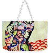 The Holy Family Weekender Tote Bag by Gloria Ssali