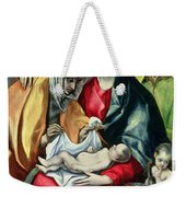 The Holy Family With St Elizabeth Weekender Tote Bag